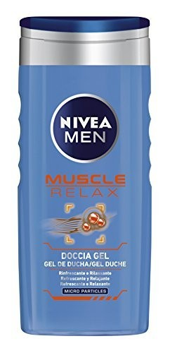 Nivea Doccia Schiuma 250 Ml For Men Gel Muscle Relax