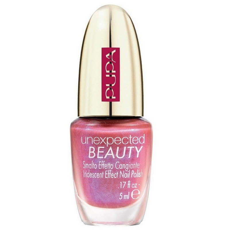 Pupa Unexpected Beauty Nail Polish 003 Chameleon Pink Blue - 5 Ml