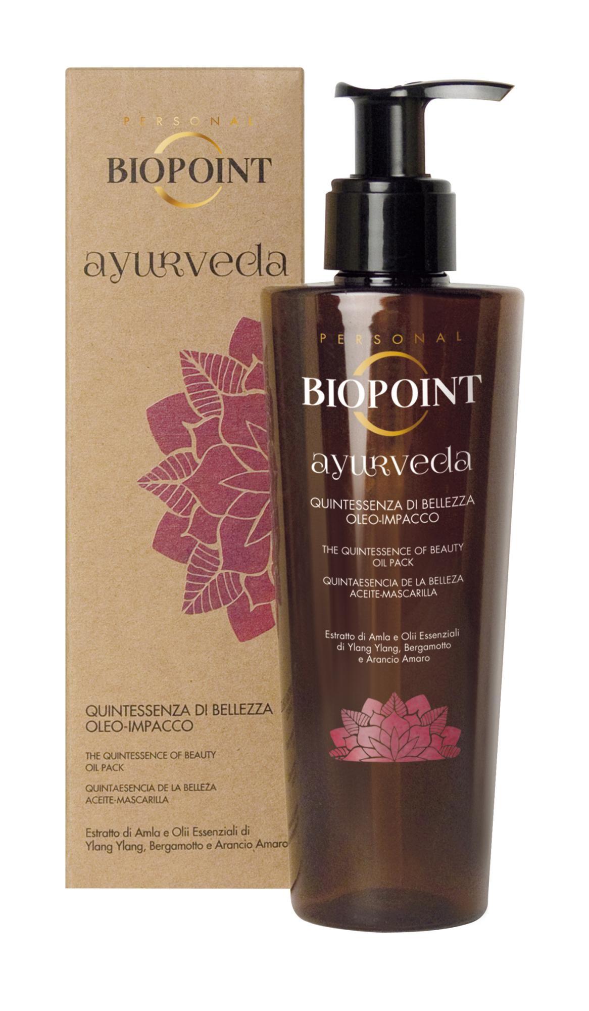 Biopoint PV01216 olio per capelli 150 ml