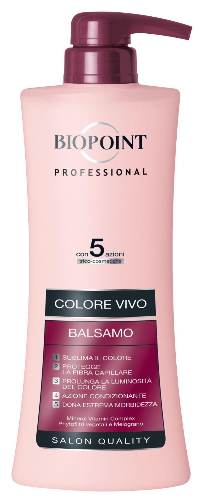 Biopoint PV05017 balsamo per capelli Donna Balsamo professionale per capelli 400 ml
