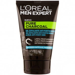 L'Oréal Paris Men Expert Scrub Pure Charcoal, 100 ml