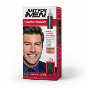 Just For Men Shampoo Colorante H-45 Castano Scuro