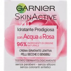 Garnier Skinactive Idratante Prodigiosa con Acqua di Rosa 50ml