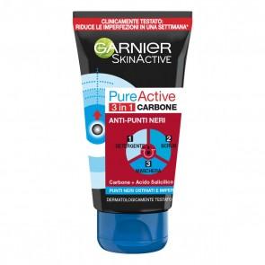 Garnier Pure Active 3 in 1 Carbone, 150 ml