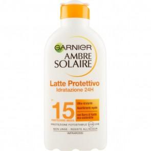 Garnier Ambre Solaire Latti solari classici Latte classico IP15 200 ml