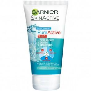 Garnier Pure Active 3 In 1, 150 ml