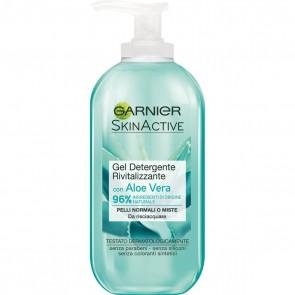 Garnier Skinactive Gel Detergente Rivitalizzante con Aloe Vera 200ml