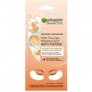 Garnier Maschera Occhi Anti Fatica con Succo d`Arancia e Acido Ialuronico