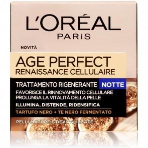 L'Oréal Paris Crema Viso Notte Age Perfect Reinassance Cellulaire, 50 ml