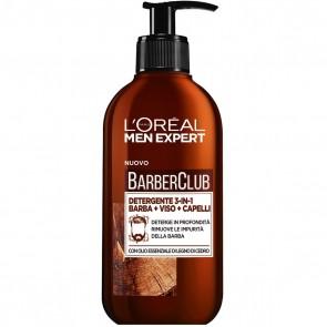 L'Oréal Paris Men Expert Barber Club Detergente 3-in-1 Rimuove le impurità della barba, 200 ml