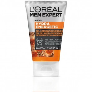 L'Oréal Paris Men Expert Hydra Energetic, Guaranà e Vitamina C, 100 ml