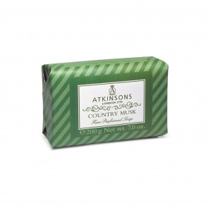 Atkinsons 1799 Country Musk Fine Perfumed Soap 200g