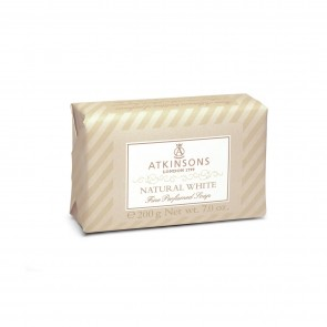 Atkinsons 1799 Natural White Fine Perfumed Soap 200g