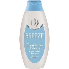 BREEZE Freschezza Talcata Bagno Doccia Shampoo 400ml