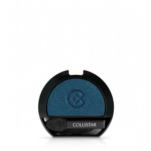 Collistar Refill Impeccable Ombretto Compatto, 240 Blu Mediterraneo Satin, 2g