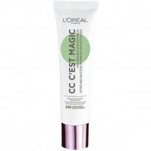 L'Oréal Paris C`est Magic, CC Cream Anti-Rossori, 30 ml
