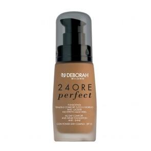 Deborah Milano 24Ore Perfect 5 Amber 30ml + Correttore 24ore Perfect 4 Medium Beige