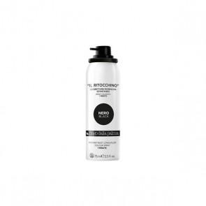 Diego dalla Palma Il Ritocchino - Correttore Ricrescita Istantaneo Spray Colorato 1 Minuto, Nero, 75ml