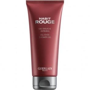 Guerlain Habit Rouge doccia gel Uomo Corpo Arancione, Patchouli, Vaniglia 200 ml