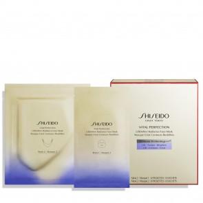 Shiseido Vital Perfection Maschera Viso LiftDefine Radiance, 6 sets